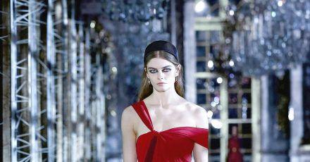 Entwurf aus der Herbst/Winter Kollektion von Christian Dior bei der digitalen Show in Paris.