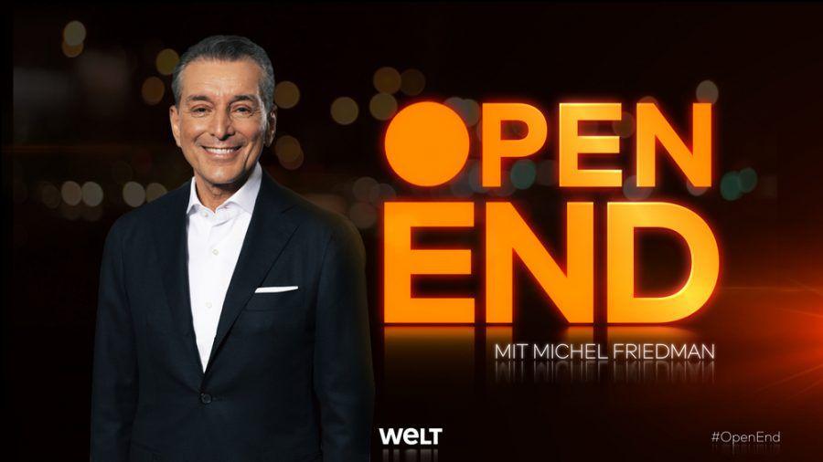 "Michel Friedman ist der Gastgeber des neuen Talk-Formats ""Open End"". (wag/spot)"