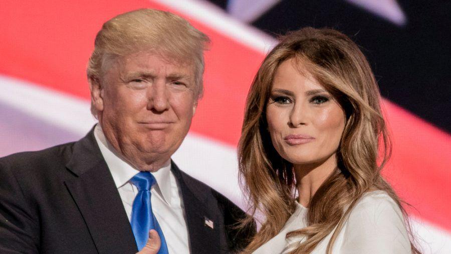 Donald Trump und Melania wurden heimlich gegen Corona geimpft. (ili/spot)