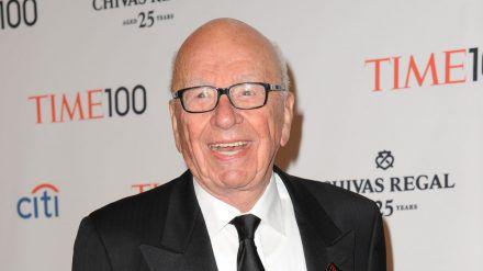Am 11. März feiert Rupert Murdoch seinen 90. Geburtstag. (kms/spot)