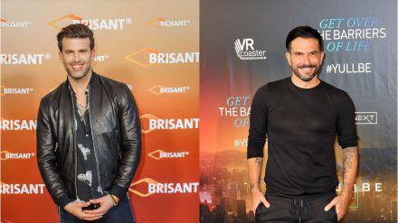 Jay Khan (l.) und Marc Terenzi gründen gemeinsam eine neue Boyband. (dr/spot)