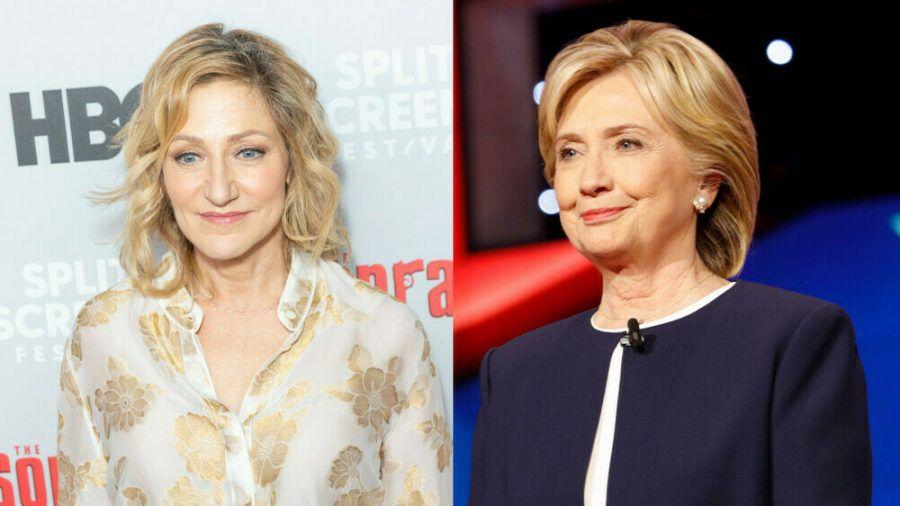 """Impeachment: American Crime Story"": Edie Falco (l.) spielt Hillary Clinton (ili/spot)"