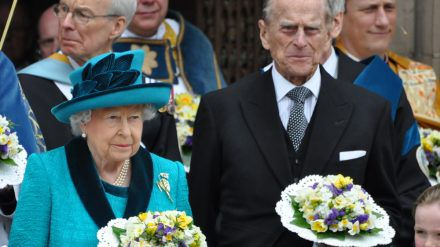 Prinz Philip und Ehefrau Queen Elizabeth II. (jom/spot)