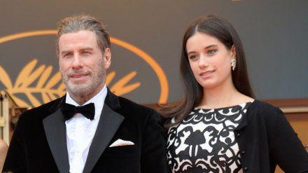 Ella und John Travolta auf dem Filmfestival in Cannes 2018. (jom/spot)