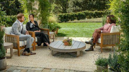 Prinz Harry und Herzogin Meghan im Interview mit Oprah Winfrey (wue/spot)
