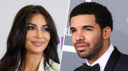 Fans dichten Kim Kardashian und Drake eine angebliche Affäre an. (ncz/spot)