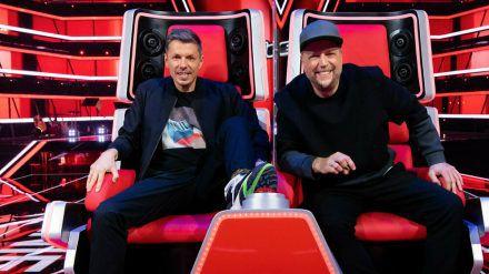 """Michi Beck (l.) und Smudo sind derzeit bei """"The Voice Kids"""" als Coaches vertreten. (jom/spot)"""