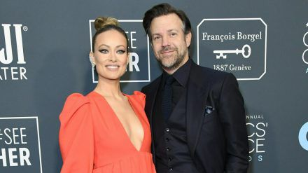 Olivia Wilde und Jason Sudeikis bei den Critics Choice Awards 2020. (mia/spot)