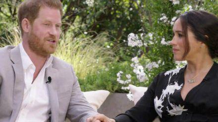 Herzogin Meghan und Prinz Harry stellen sich den Fragen von Oprah Winfrey. (obr/spot)