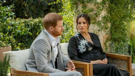 Prinz Harry und Herzogin Meghan im Gespräch mit Oprah Winfrey (wue/spot)