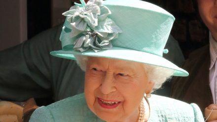 Queen Elizabeth II. bei einem Auftritt in London (hub/spot)
