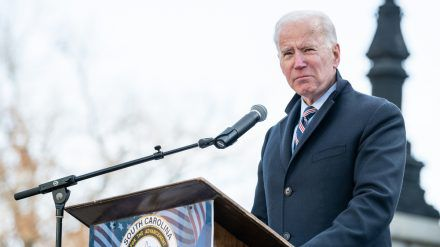 Joe Biden muss aktuell ohne seine Schäferhunde auskommen. (wag/spot)