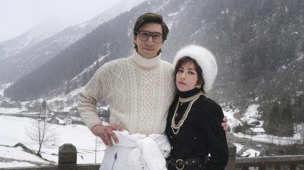 Adam Driver und Lady Gaga als Maurizio Gucci und Patrizia Reggiani. (stk/spot)