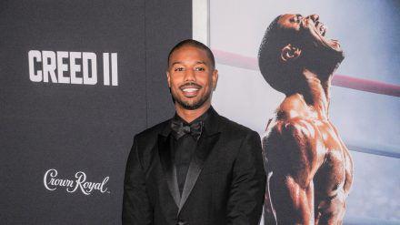 "Michael B. Jordan bei der Premiere von ""Creed II - Rocky's Legacy"" 2018 in New York City. (wag/spot)"