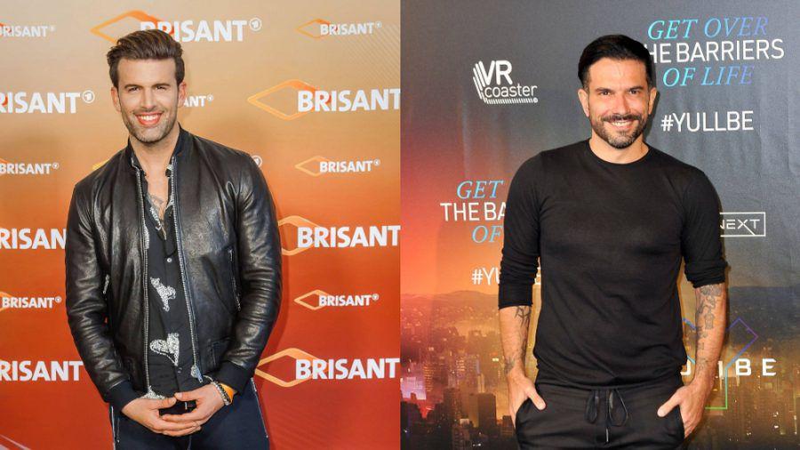 Jay Khan (l.) und Marc Terenzi haben eine neue Boyband gegründet (mia/spot)