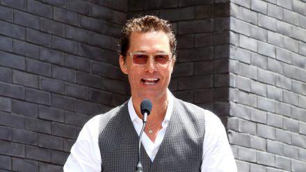 Wird Hollywood-Star Matthew McConaughey der neue Gouverneur von Texas? (ili/spot)