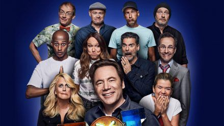 """Michael Bully Herbig und 10 Stars in """"Last One Laughing"""": Wer lacht fliegt raus"""
