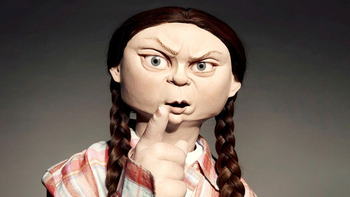 So haben wir Grumpy-Greta und Protz-Putin noch nie gesehen!