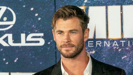Chris Hemsworth auf einem Event im Jahr 2019 (wue/spot)