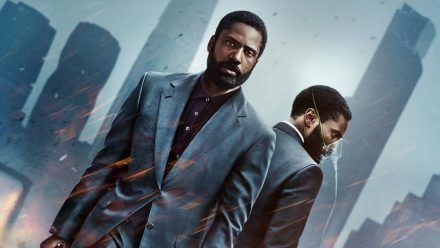 "John David Washington als der ""Protagonist"" in ""Tenet"" (stk/spot)"