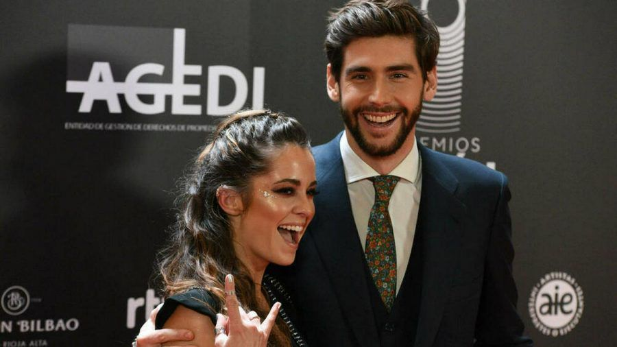 Sofia Ellar und Alvaro Soler bei einer Veranstaltung im Januar 2020 (rto/spot)