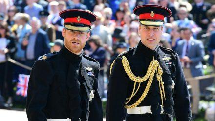 Prinz Harry (li.) und Prinz William treffen am 17. April erstmals wieder aufeinander. (cos/spot)