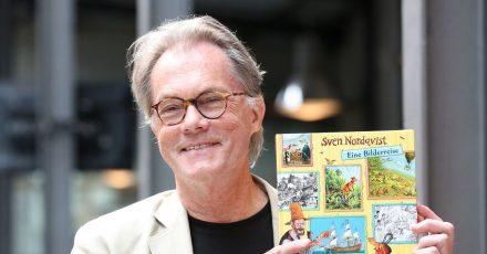 Sven Nordqvist:Seine Helden sind der alte Pettersson und der quirlige Findus.