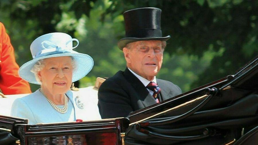 Queen Elizabeth II. und Prinz Philip im Juni 2017 in London (jom/spot)