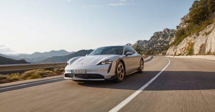 Sportcoupé mit SUV-Qualitäten: Als Cross Turismo soll der Porsche Taycan alltagstauglicher werden.
