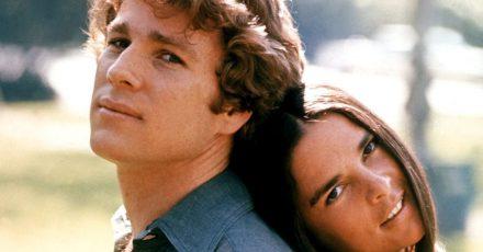 Ihre »Love Story» hat sie zu Stars der 70er Jahre gemacht: Ryan O'Neal und seine Filmpartnerin Ali McGraw (1970).