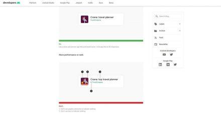 Darf's ein bisschen weniger sein? Google sagt ganz klar ja und schreibt Entwicklern bald stringente, schnickschnackfreie und unmissverständliche Logos sowie Namen für ihre Apps vor.