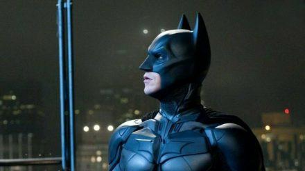 """The Dark Knight Rises"": Batman (Christian Bale) befürchtet die Zerstörung Gothams (cg/spot)"