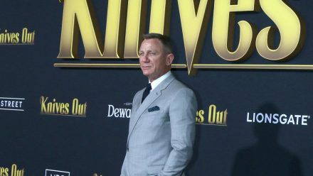 "Daniel Craig bei der ""Knives Out""-Premiere 2019 in Los Angeles (hub/spot)"