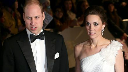 Prinz William und Herzogin Kate bei den BAFTA Awards 2019 in der Royal Albert Hall in London (jom/spot)