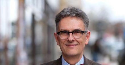 Oliver Zille, Direktor der Leipziger Buchmesse, bei einem Pressetermin im Jahr 2020.