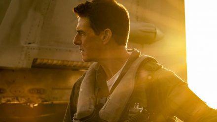 """Tom Cruise wird einmal mehr zu Captain Pete """"Maverick"""" Mitchell. (cos/spot)"""
