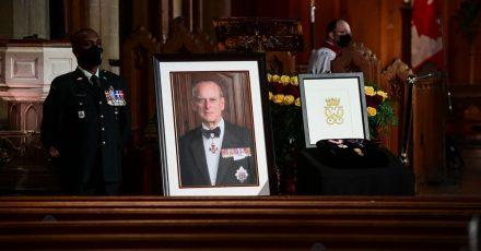 Trauerfeier und Beisetzung von Queen-Ehemann Prinz Philip, Herzog von Edinburgh, fand auf Schloss Windsor statt.