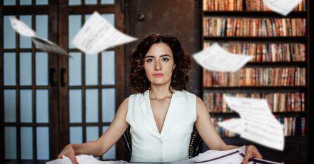 Die russische Schriftstellerin Alissa Ganijewa.