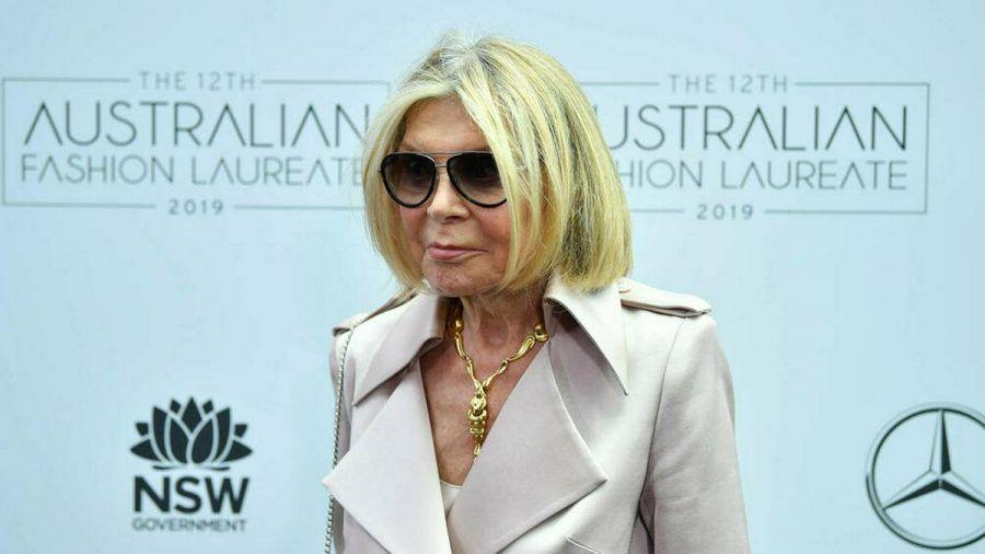 Carla Zampatti im Jahr 2019 in Sydney (wue/spot)