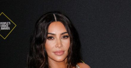 Reality-TV Star Kim Kardashian bei den Peoples Choice Awards 2019.