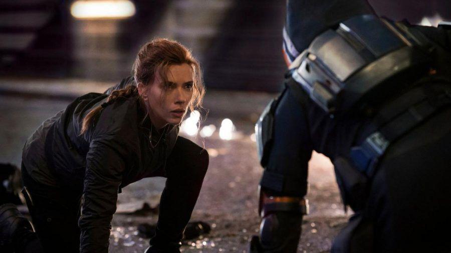 """Scarlett Johansson in """"Black Widow"""". (wue/spot)"""