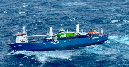 Rund 350 Tonnen Schweröl sowie 50 Tonnen Diesel hat die havarierte «Eemslift Hendrika» an Bord.