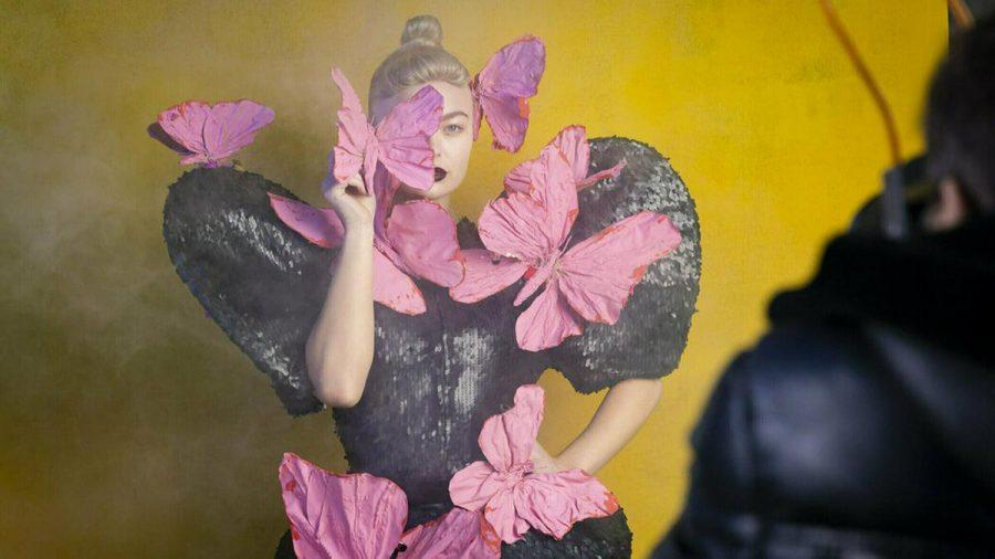 "Elisa beim Art-Shooting von ""Germany's next Topmodel"". (mia/spot)"