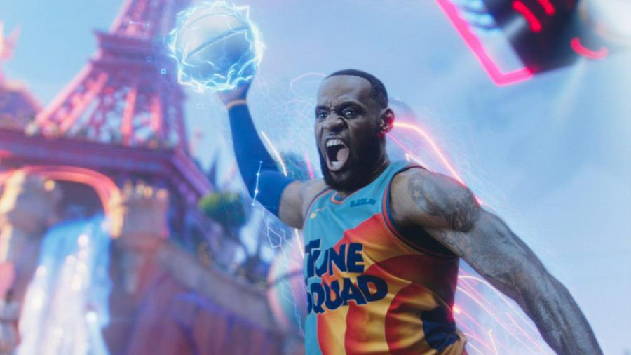 "LeBron James in ""Space Jam: A New Legacy"" (wue/spot)"