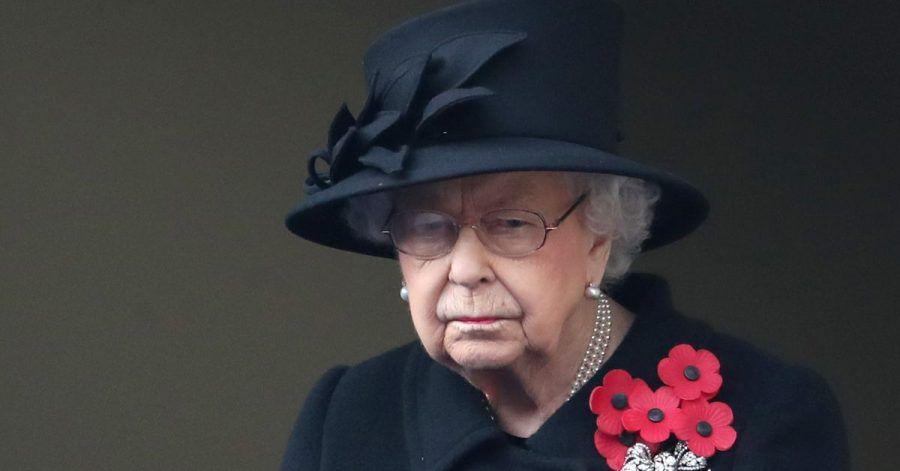 Die britischen Königin Elizabeth II. (2020).