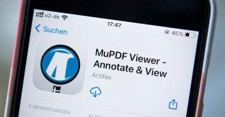 Ob iPhone oder Androide: Der MuPDF-Viewer ist in beiden Welten zu Hause.