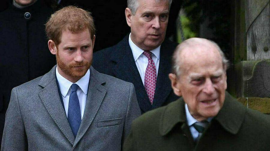 """Prinz Harry (li.) wird Prinz Philip """"schmerzlich vermissen"""". (cos/spot)"""