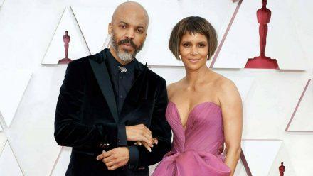 Halle Berry und ihr Partner Van Hunt bei den Academy Awards (hub/spot)