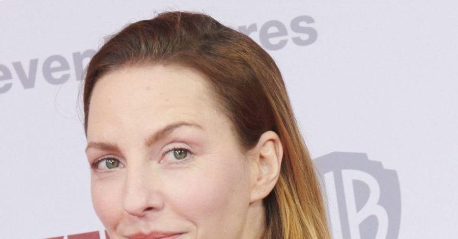 """Katharina Schüttler bei der Weltpremiere ihres Films """"Die Hochzeit"""" 2020 in Berlin."""