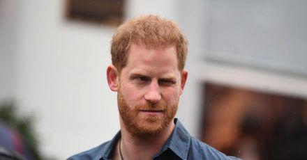 Prinz Harry nimmt am Samstag an der Beerdigung von Prinz Philip teil.